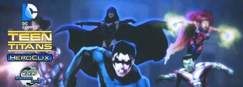 Teen Titans Heroclix Booster Brick  [8 regular boosters + 1 super booster]]()