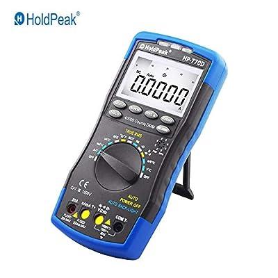 Digital Multimeter HP-770D Auto Range True RMS 40000 Counts NCV AC DC Voltage Current Ohm Capacitance Temperature Teste