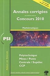 PSI Mathématiques 2010