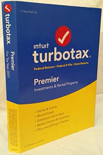 PREMIER TurboTax FEDERAL RETURNS RETURN product image