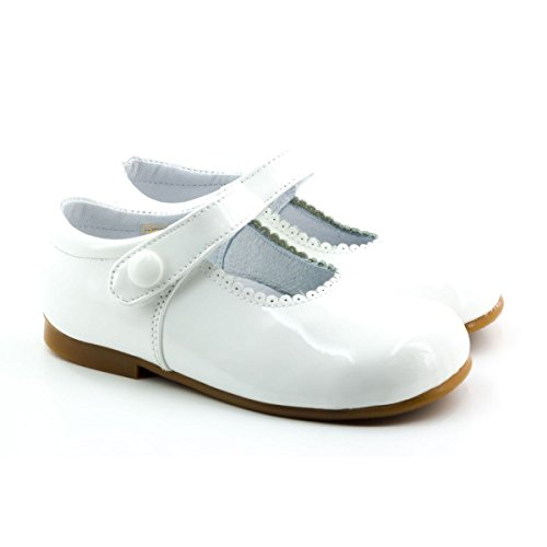 Boni Classic Shoes - Merceditas para niña blanco