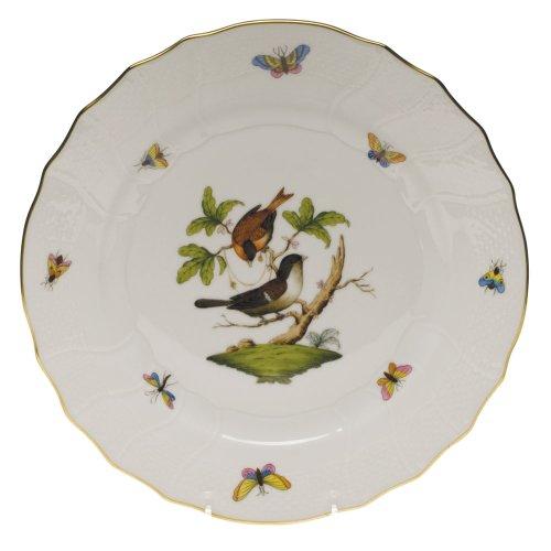 Herend Rothschild Bird Dinner Plate Motif - Rothschild Herend Bird