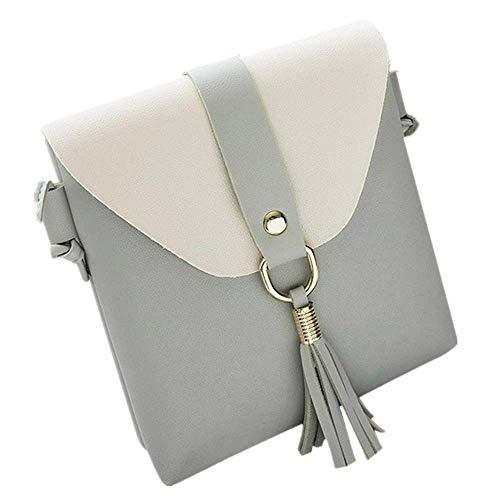 - Womens Girls Tassels Messenger Bags Afterso Fashion Vintage Crossbody Shoulder Bags Casual Wristlets Totes Clutch Purse Wallet Handbags (16cm/6.3