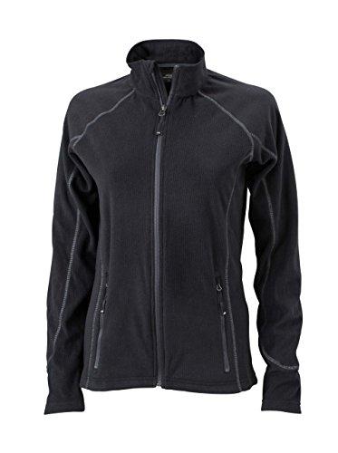 Chaqueta de lana outdoor ligero Chaqueta Mujer Black/Carbon