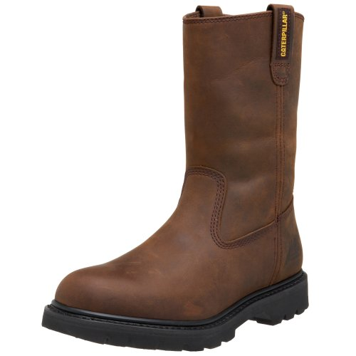 Caterpillar Revolver (Caterpillar Men's Revolver Pull-On Soft Toe Boot,Wellington Dark Brown,10.5 M)