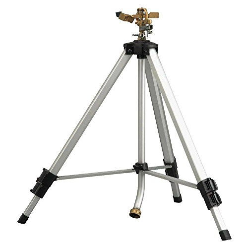 Melnor Deluxe Metal Pulsating Sprinkler with Tripod