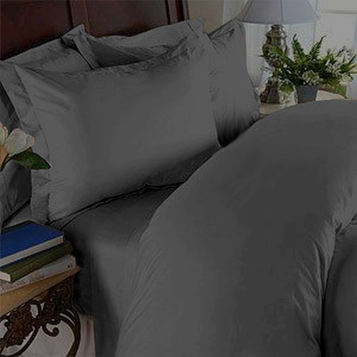 Elegance Linen ® 1200 Thread Count Egyptian Quality Super Soft WRINKLE FREE & WRINKLE RESISTANT 4 pc Sheet Set , Deep Pocket Up to 18