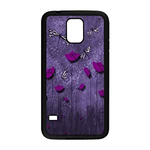 Beautiful Dragonfly Brand New Cover Case for SamSung Galaxy S5 I9600,diy case cover ygtg-308643 Kimberly Kurzendoerfer