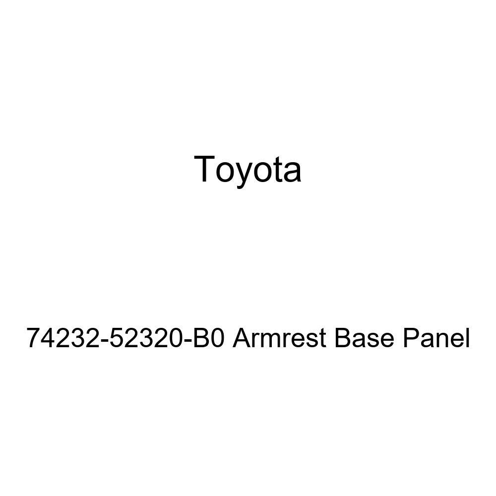TOYOTA Genuine 74232-52320-B0 Armrest Base Panel