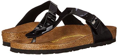 Birkenstock Women's GIzeh Thong Sandal, Black Patent, 38 M EU/7-7.5 B(M) US by Birkenstock (Image #6)