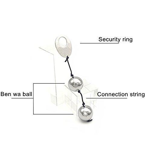 Kegel Balls Exercise Weights - TinWong Metal Ben Wa Balls Kegel Exercise Balls for Tightening