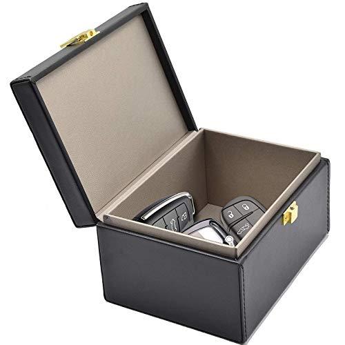 Faraday Box voor Autosleutels, Keyless Go Autosleutel Box Keyless Entry Protection Auto Key Signal Blocker Rfid Blocking…