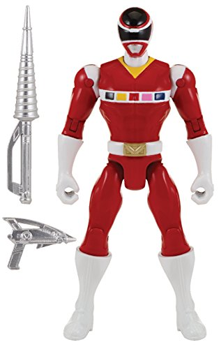 "Power Rangers Super Megaforce - 5"" In Space Red Ranger Action Hero"