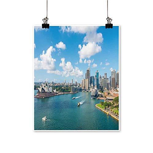 - Wall Artcircular Quay Opera House Sydney NSW Australia for Hallway Bathroom,32