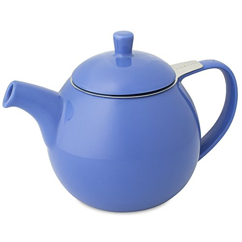 - FORLIFE Curve Teapot with Infuser, 24-Ounce, Blue