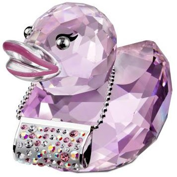 Swarovski Crystal Duck Fancy Felicia Figurine (Crystal Duck Figurine)