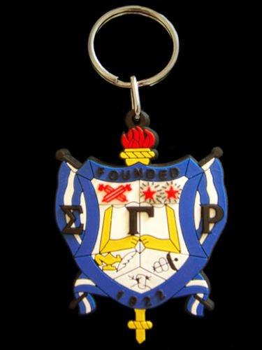 (Sigma Gamma Rho PVC Keychain)