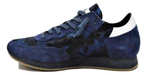 Philippe Model - Zapatillas de Lona para hombre azul turquesa 41