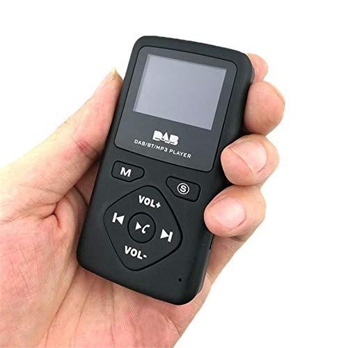 MASO Personal Digital Player Pocket DAB/DAB+/FM Radio,Headphones Included,LCD Screen MP3 Player USB Bluetooth4.0 32G (Best Dab Digital Radio)
