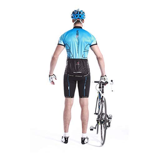 Mysenlan Mens Cycling Jersey Short Sleeve Shirts Bike Bicycle Breathable Riding Sports Jerseys