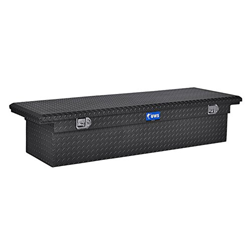 toolbox for truck bed matte black - 5