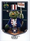 2016 Topps Baseball Stickers #19 Orbit Mascot Houston Astros