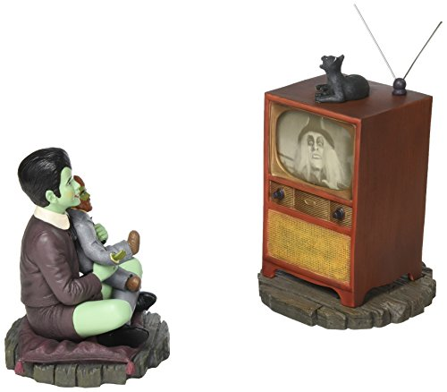 Munsters Eddie and Television Colored Maquette (Maquette Cold Cast)
