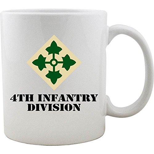 (Army 4th Infantry Division 11oz. Coffee Mug)