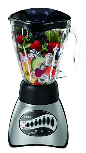 Oster 6812-001 Core 16-Speed Blender with Glass Jar, - Filler Scratch Glasses For