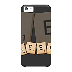 For Iphone Case, High Quality Geek Scrabble For Iphone 5c Cover Cases Kimberly Kurzendoerfer
