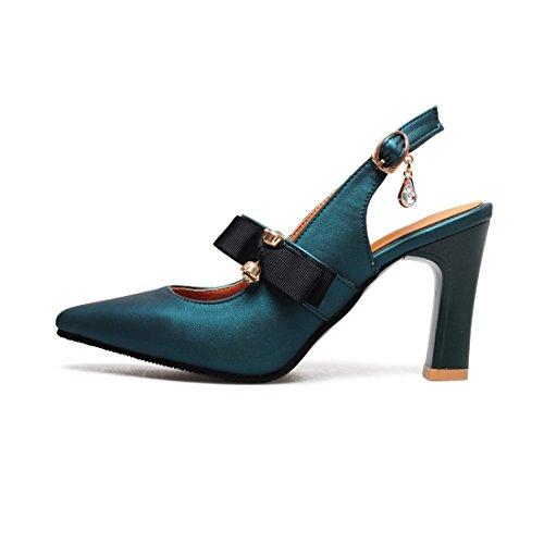 baotou i baotou tacco a sandali agio sposa signore sandali sandali 40 che suo green i sandali sandali i qwBvE