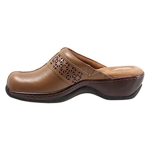 Softwalk Womens Abby Clog Cognac Laser WA5SGVlV