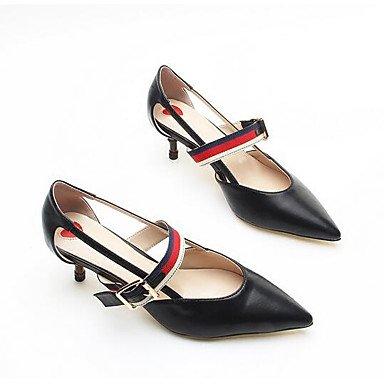 Printemps 7 Chaussures cm ggx Rouge LvYuan 9 5 Confort Microfibre Décontracté Noir à ruby Talons à Confort Femme 5 Rqcw7Sw0