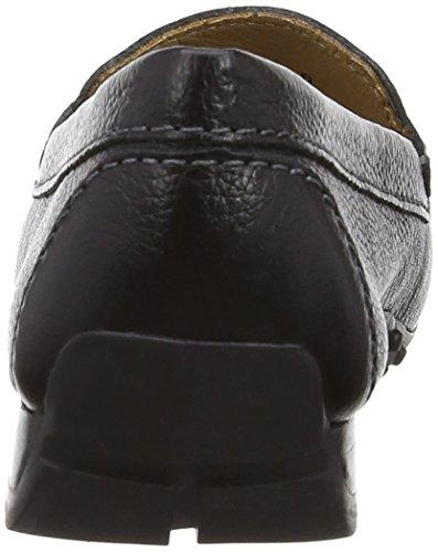 M Leather Paris Sanson De Black Florever Mocasines Mujer dogawa THwREEqpx