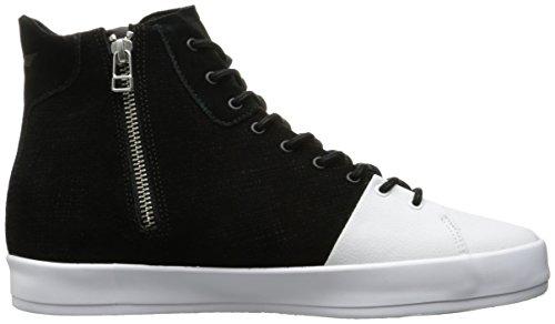 Creatieve Recreatie Heren Carda Hi Fashion Sneaker Zwart / Wit