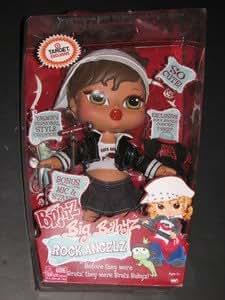 Amazon Com Bratz Big Babyz Rock Angelz Yasmin Doll With