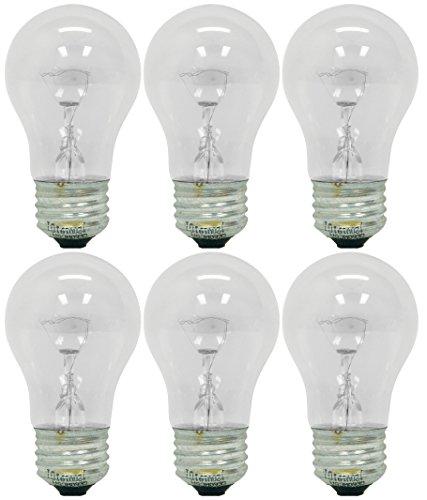 Ge Lighting 76579 Appliance 40-watt, 415-lumen A15 Light Bul