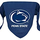 "NCAA Dog Bandana NCAA Team: Penn State, Size: Large (21.5"" H x 9"" W x 0.2"" D)"