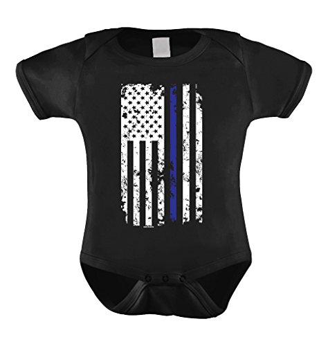 Thin Blue Line American Bodysuit
