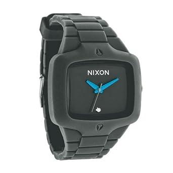 Amazon.com: Nixon Mens Diamond hule jugador silicona reloj ...