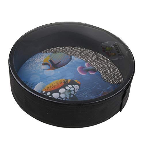 Cute Multicolor Sea Sound 10 Inch Drum