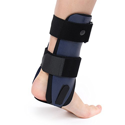 Ankle Support, OUTAD Sport Ankle Support Brace, Ankle Guard Medical Grade Provides Support and Pain Relief for Sprains, Strains, Arthritis and Torn Tendons (M, Right, Blue)
