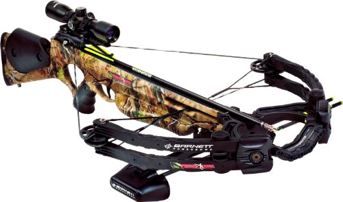 Barnett Predator 375 CRT Crossbow Package Arrows Scope