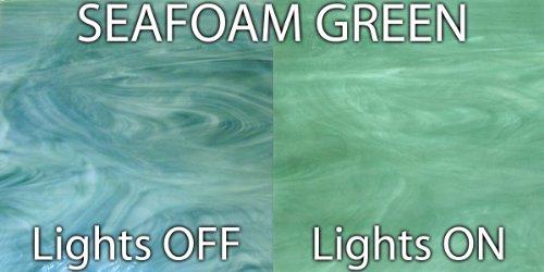 Jezebel Radiance® Glass Sample, Seafoam Green