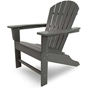 Polywood Sbagy South Beach Adirondack Chair Slate Grey