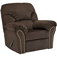 Signature Design by Ashley 3340125 Kinlock Recliner, Chocolate