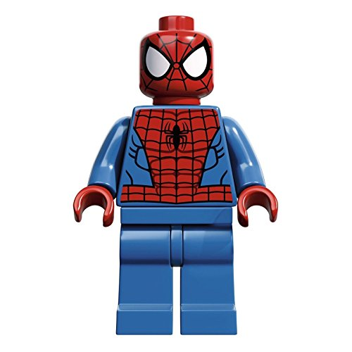 Lego Minifigure Super Heroes Spider-man with Web 6873 minifig Figure Brand new
