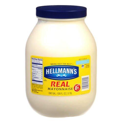 Hellmann's Real Mayonnaise 1 Gallon Jar - 128 Fl.Oz.