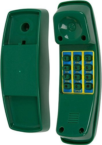 Swing Set Stuff Telephone with SSS Logo Sticker, Green