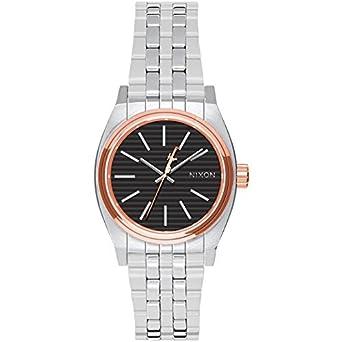 Reloj Nixon Star Wars Time Teller A399SW2445 Mujer Negro Acero: Amazon.es: Relojes